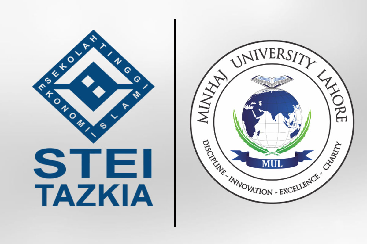 MOU with TAZKIA University College of Islamic Economics, Indonesia.