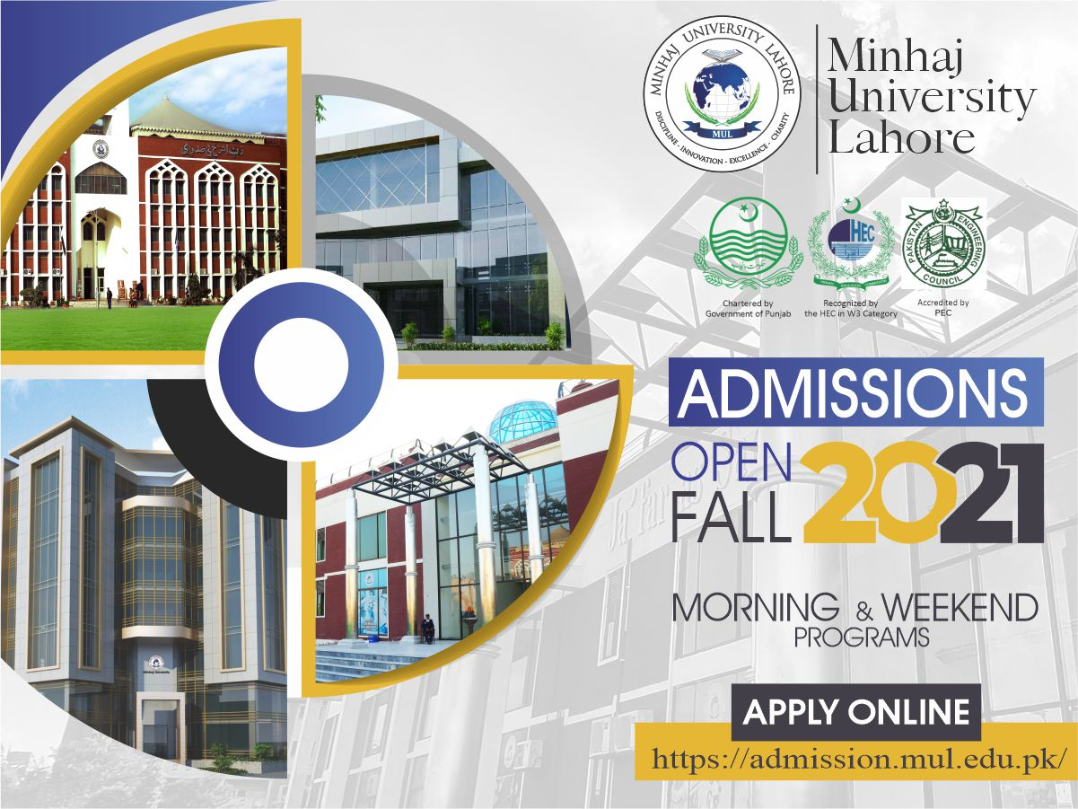 Admissions Open Fall 2021