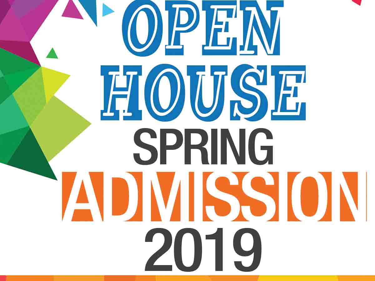Admissions Open | Open House