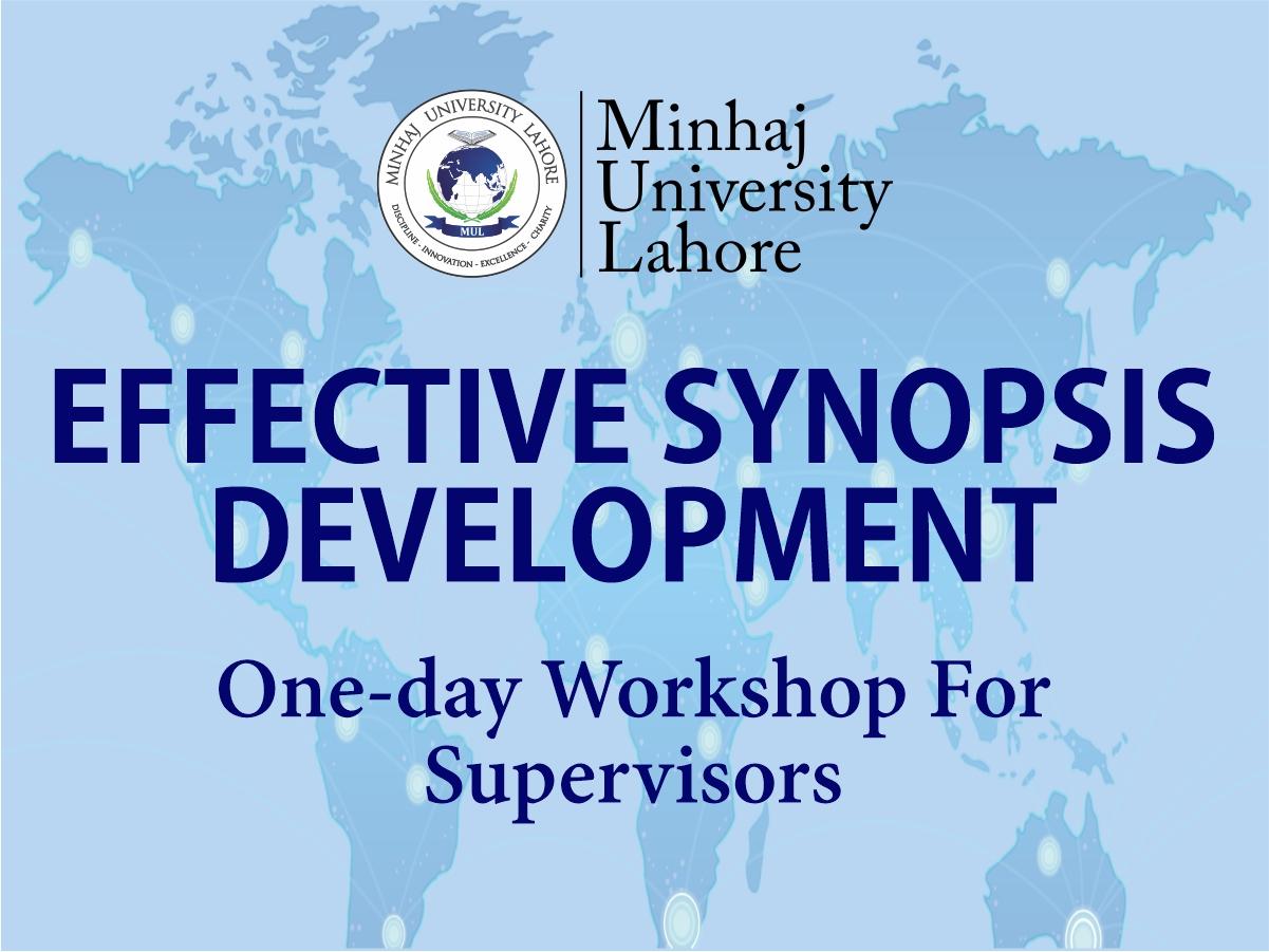 EFFECTIVE SYNOPSIS DEVELOPMENT