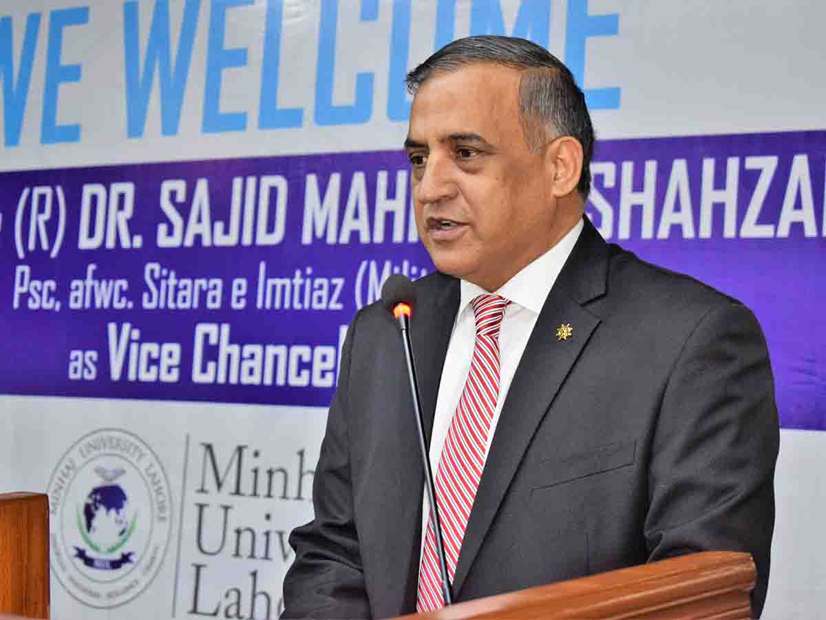 Greetings to Commodore(R) Dr. Sajid Mehmood Shahzad