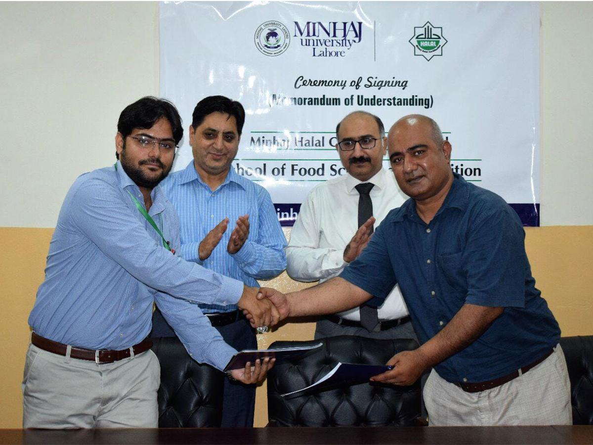 MOU with Minhaj Halal Certification
