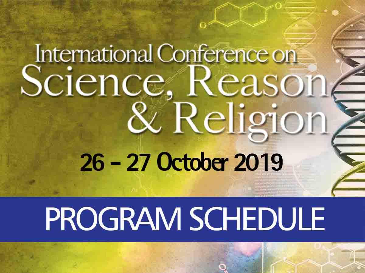 Program Schedule | ICSRR 2019