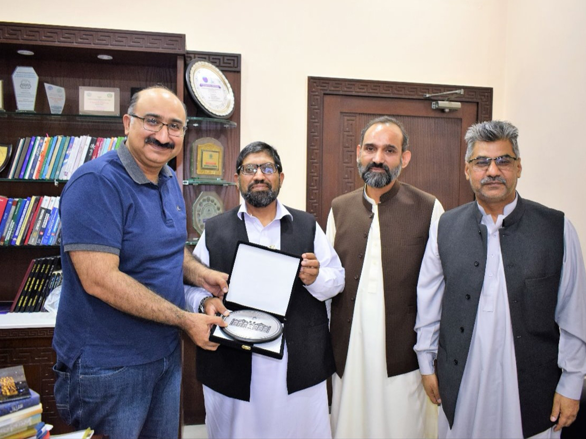 Secretary National History  Literary Heritage Division Visit MUL