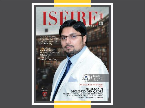 Dr. Hussain Mohi-ud-Din Qadri features on the cover of August 2020 issue of ISFIR