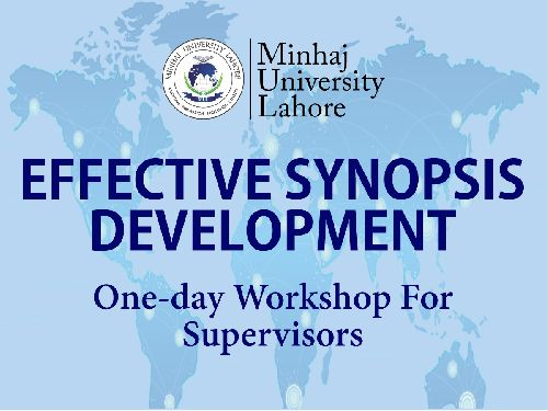 EFFECTIVE SYNOPSIS DEVELOPMENT