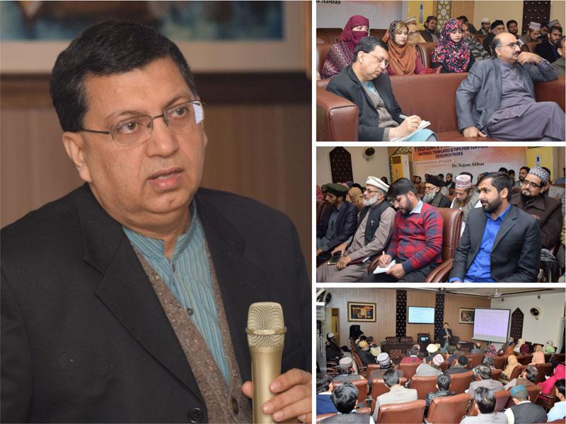 Workshop on Advanced Research Methodology