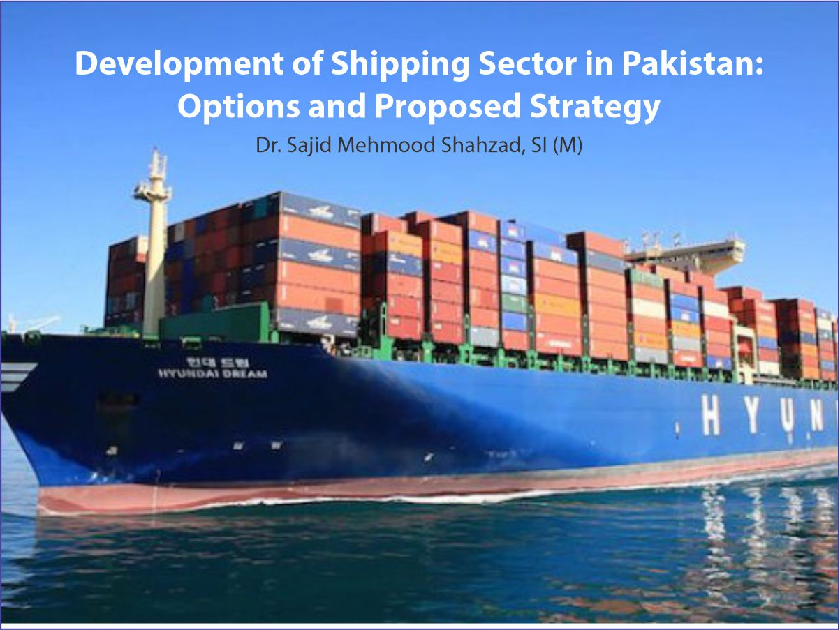 Development of Shipping Sector in Pakistan