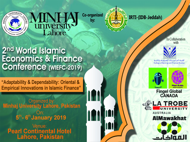 2nd World Islamic Economics and Finance Conference (WIEFC 2019)