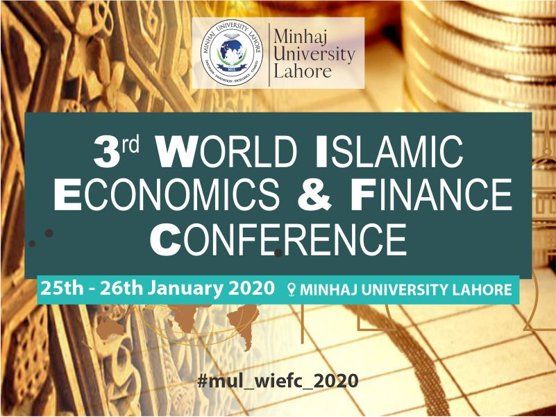 3rd World Islamic Economics and Finance Conference