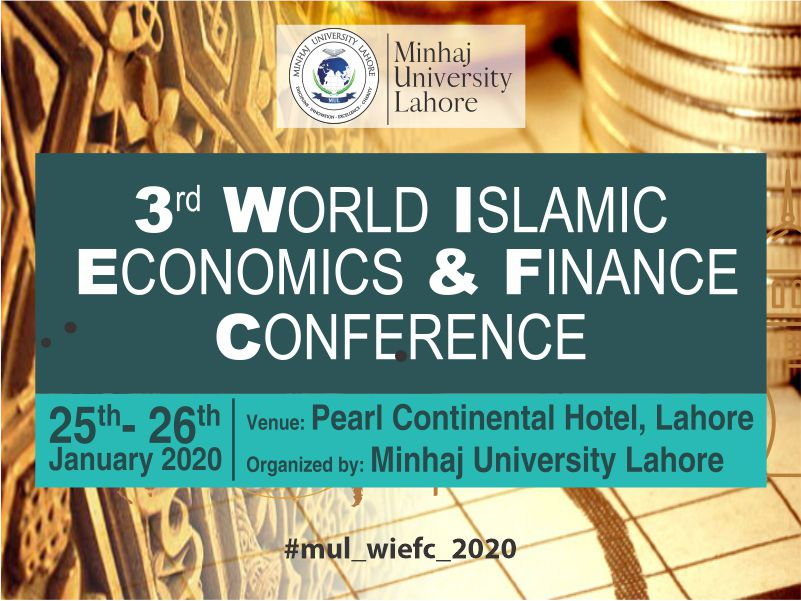 3rd World Islamic Economiics and Finance Conference