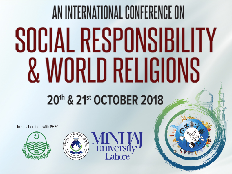 International Conference on Social Responsibility & World Religions