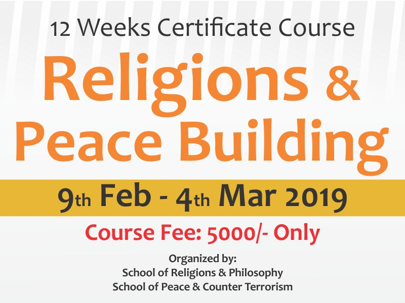 Religions & Peace Building