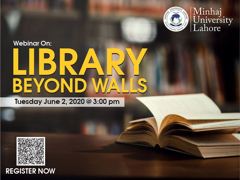 Webinar on Library Beyond Walls