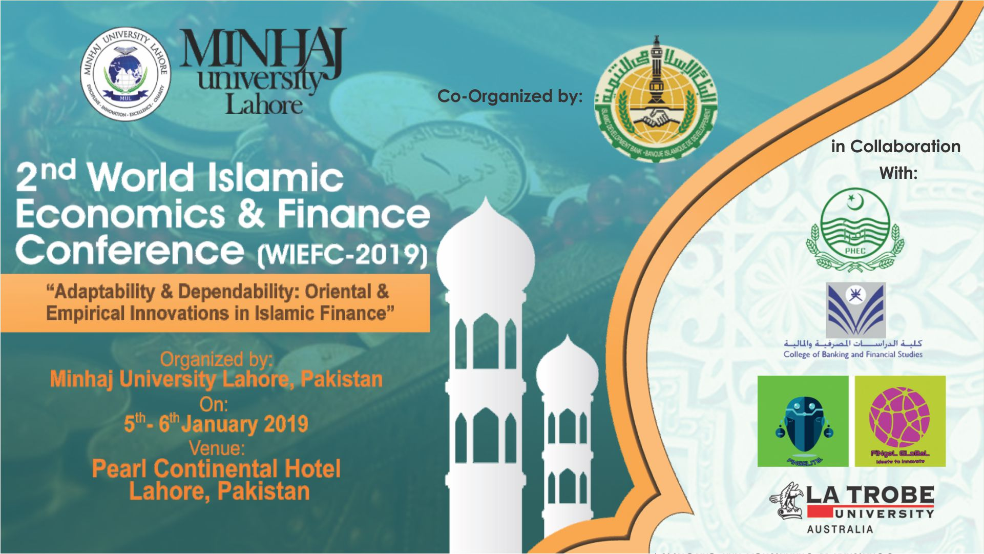 2nd World Islamic Economics & Finance Conference