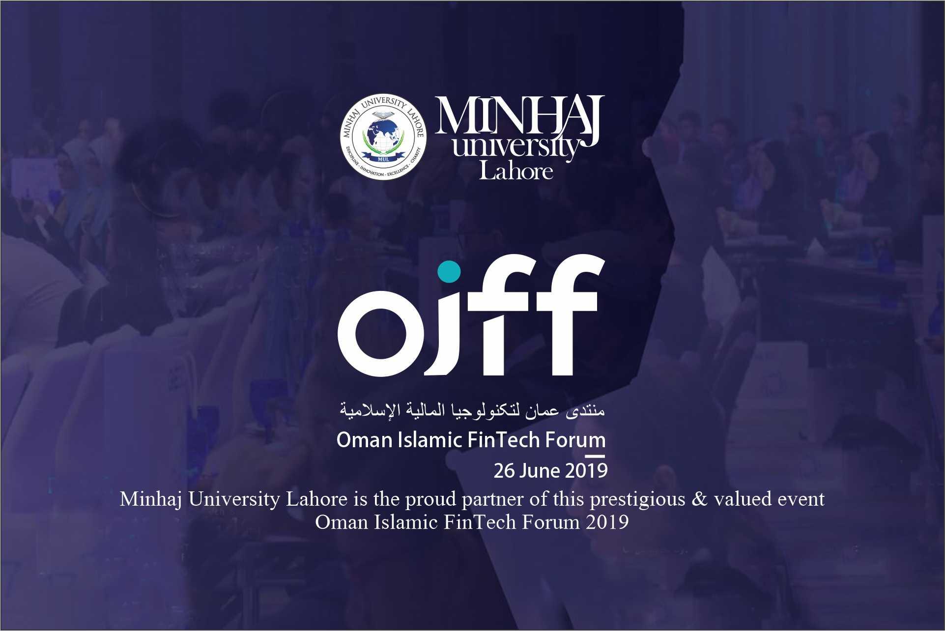 Proud Partner of Oman Islamic FinTech Forum